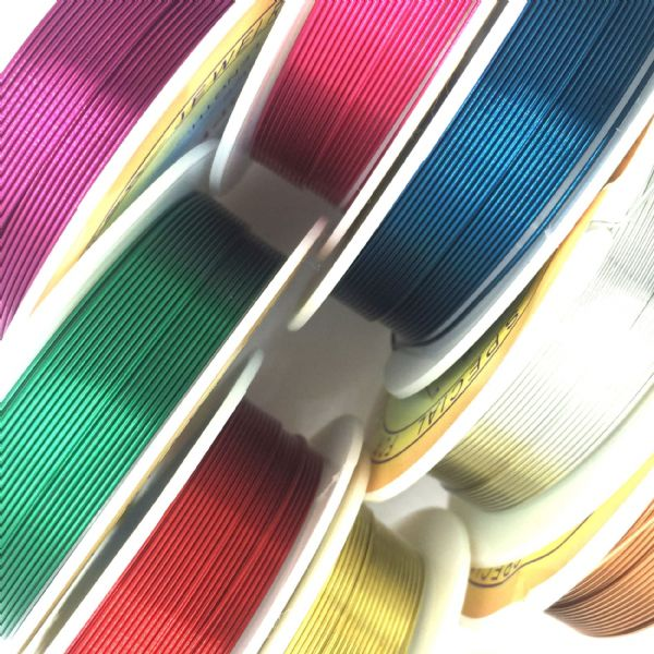 Colour Coated Copper Wire